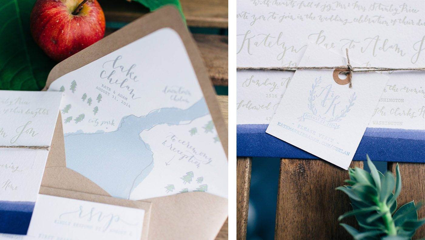 la Happy Lake Inspired Invitation Set 2