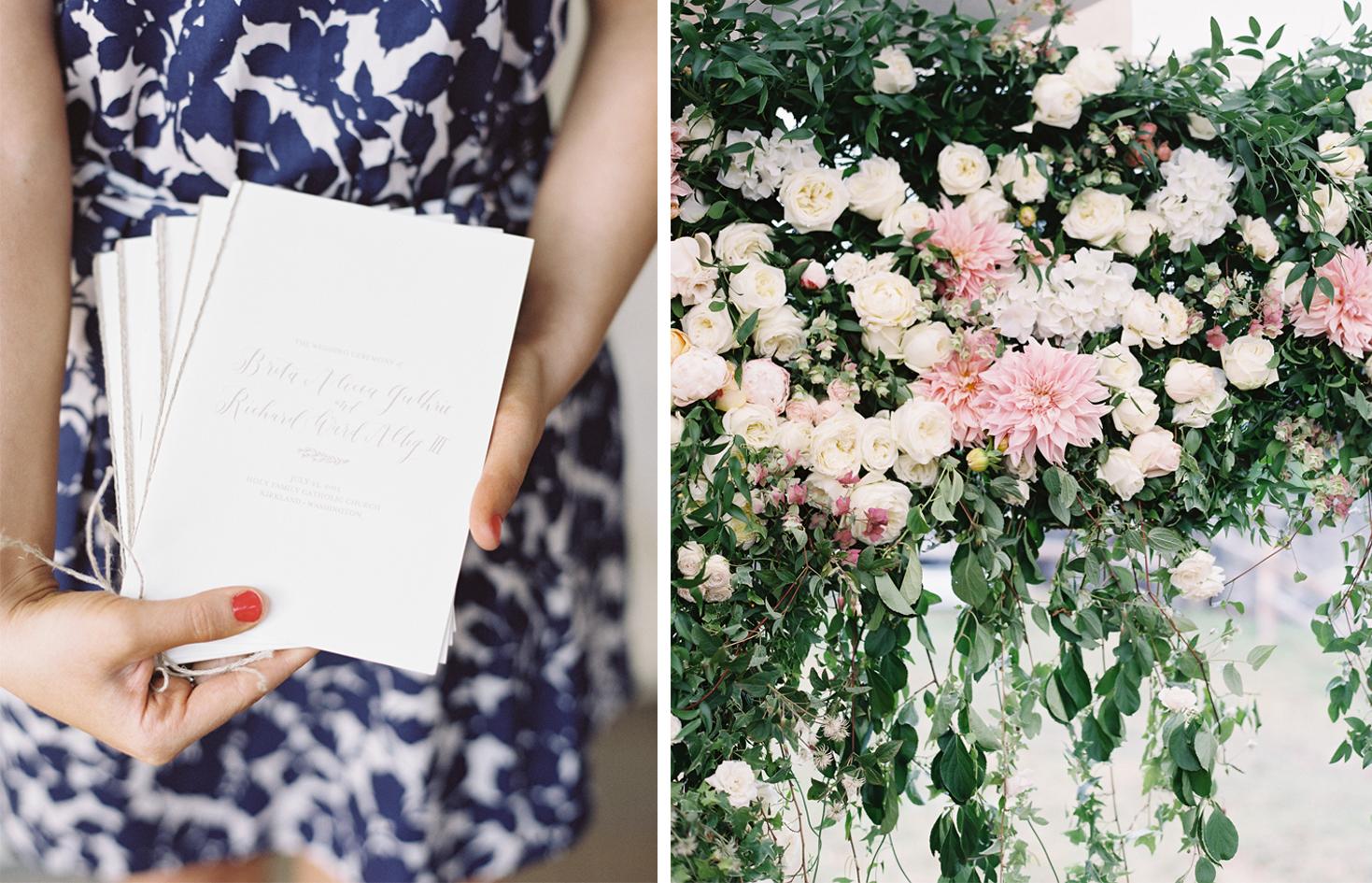 la Happy Design Wedding Program