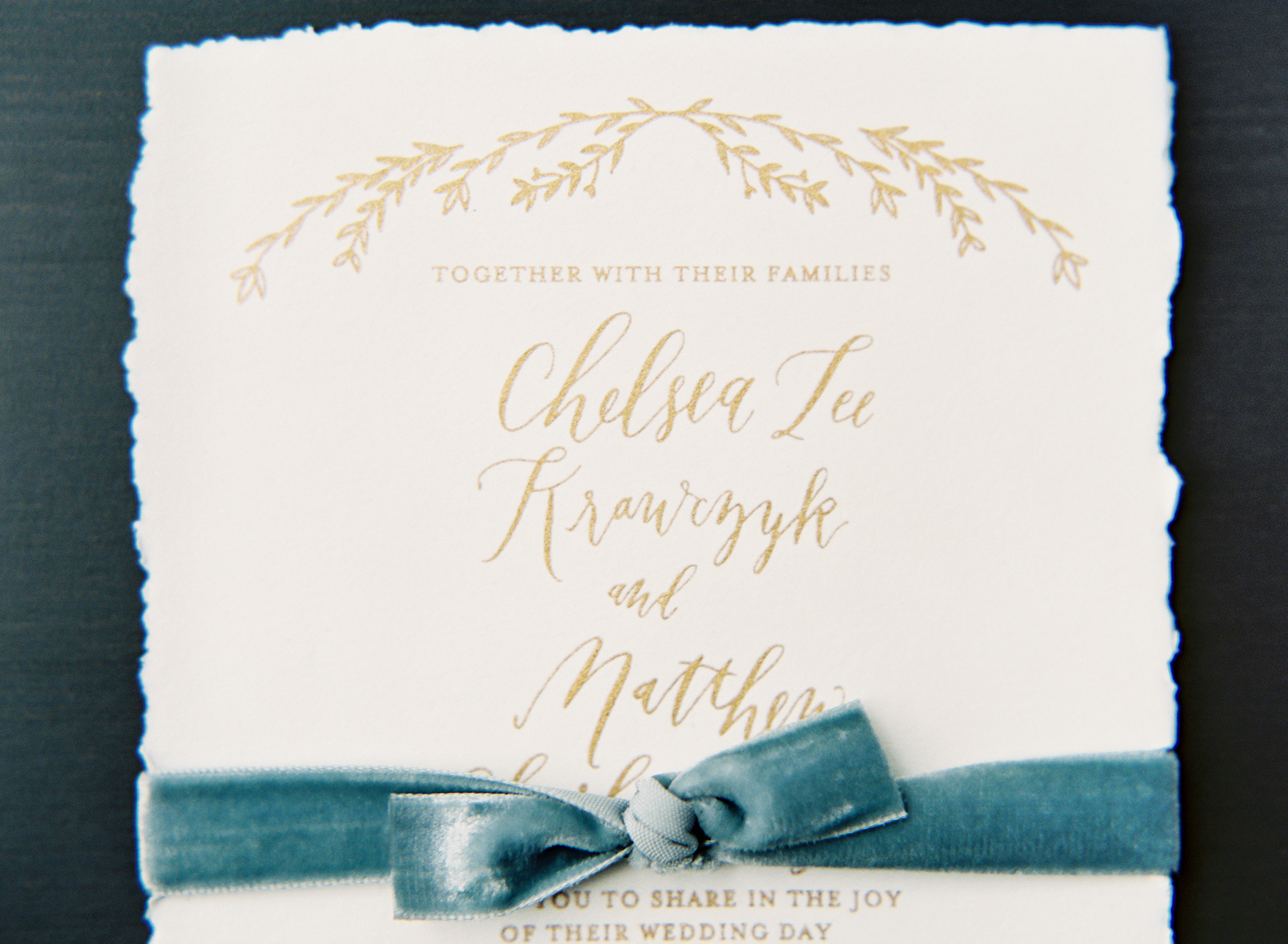 la Happy Design invitation set